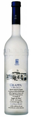 Castello Banfi Grappa di Brunello 84@
